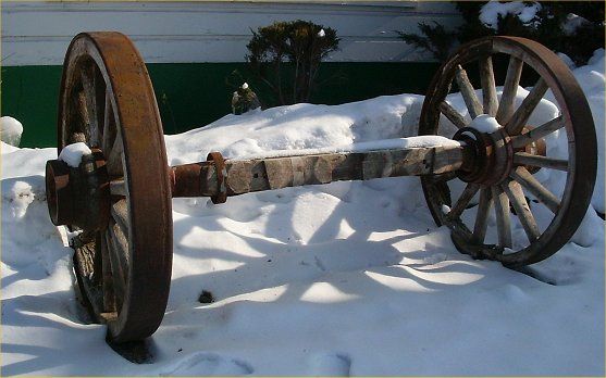 wagons in 1800s. Rare 1800s Wagon Wheels with